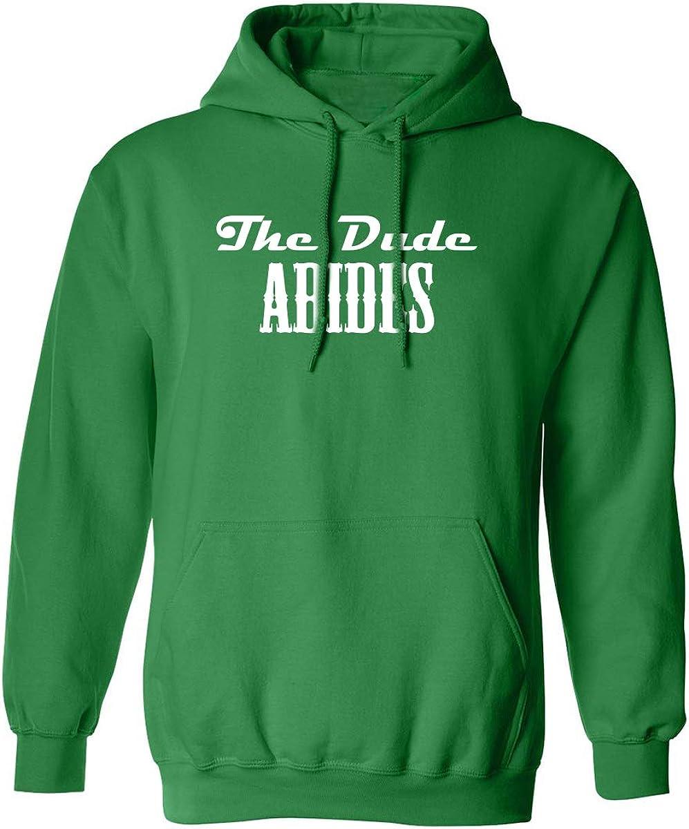 zerogravitee The Dude Abides Adult Hooded Sweatshirt