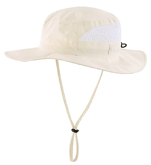 Connectyle Toddler Kids UPF 50+ Mesh Safari Sun Hat UV Sun Protection Hat  Summer Daily 11d1ab24d84