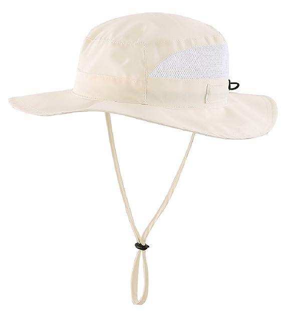 ce3cf20b5 Connectyle Toddler Kids UPF 50+ Mesh Safari Sun Hat UV Sun Protection Hat  Summer Daily