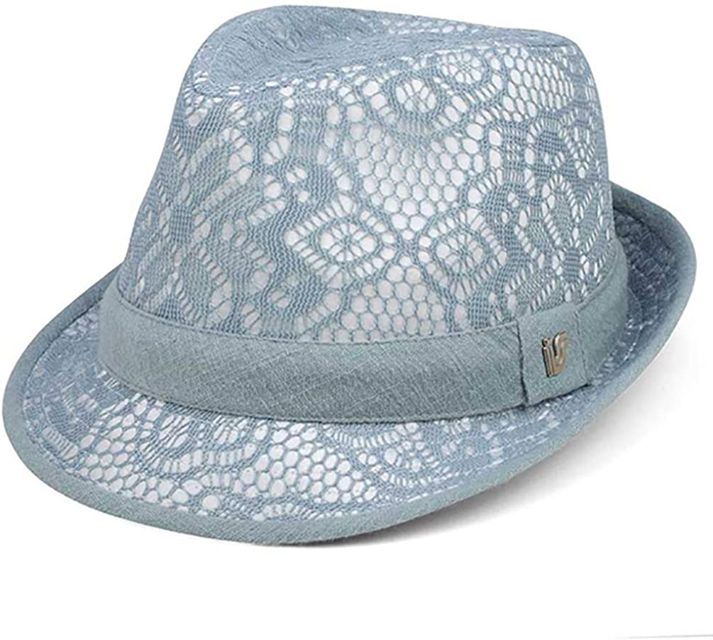 TOP HEADWEAR Lace Fedora Hat