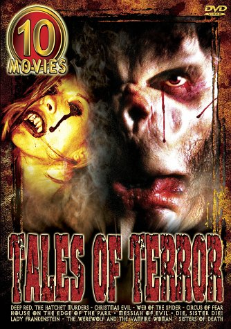 Tales of Terror (Deep Red / Christmas Evil / Web of the Spider / Circus of Fear / House on the Edge of the Park / Messiah of Evil / -