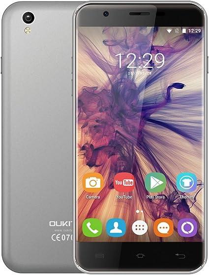 OUKITEL U7 Max Smartphone - Android 6.0, 5.5 pulgadas Pantalla, 3G ...