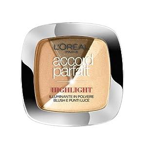 L'Oréal Paris Accord Parfait Highlight Enlumineur Poudre 102 Doré
