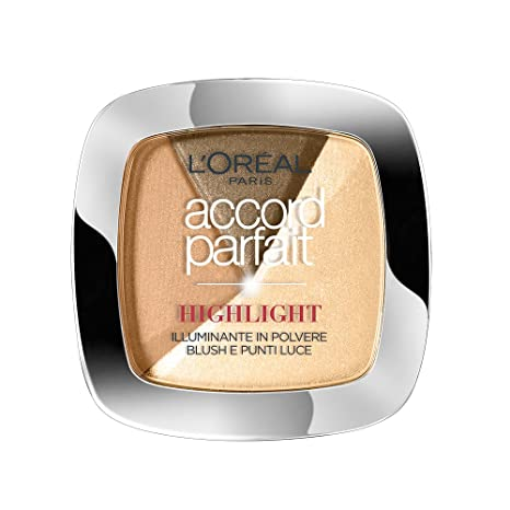 LOréal Paris Iluminador Accord Perfect Polvo 101 Golden Glow