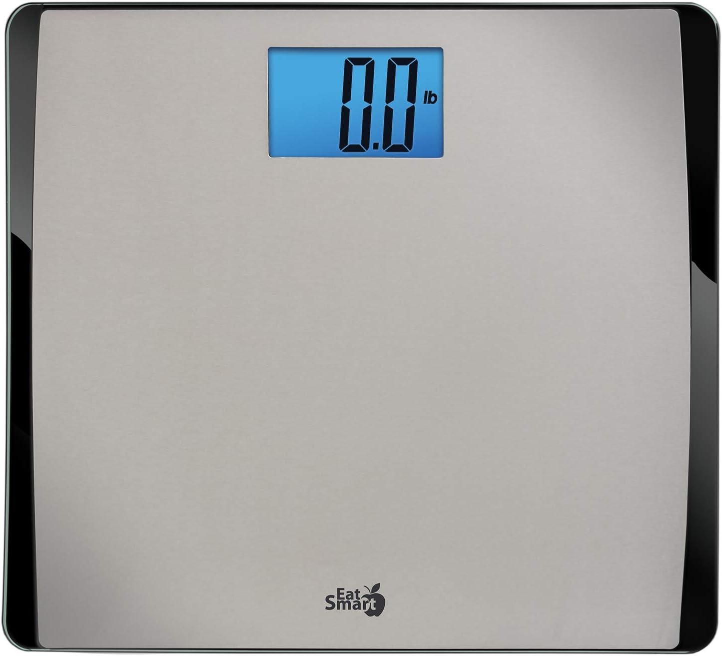 EatSmart Precision 550 Pound Extra-High Capacity Digital Bathroom Scale with Extra-Wide Platform: Health & Personal Care
