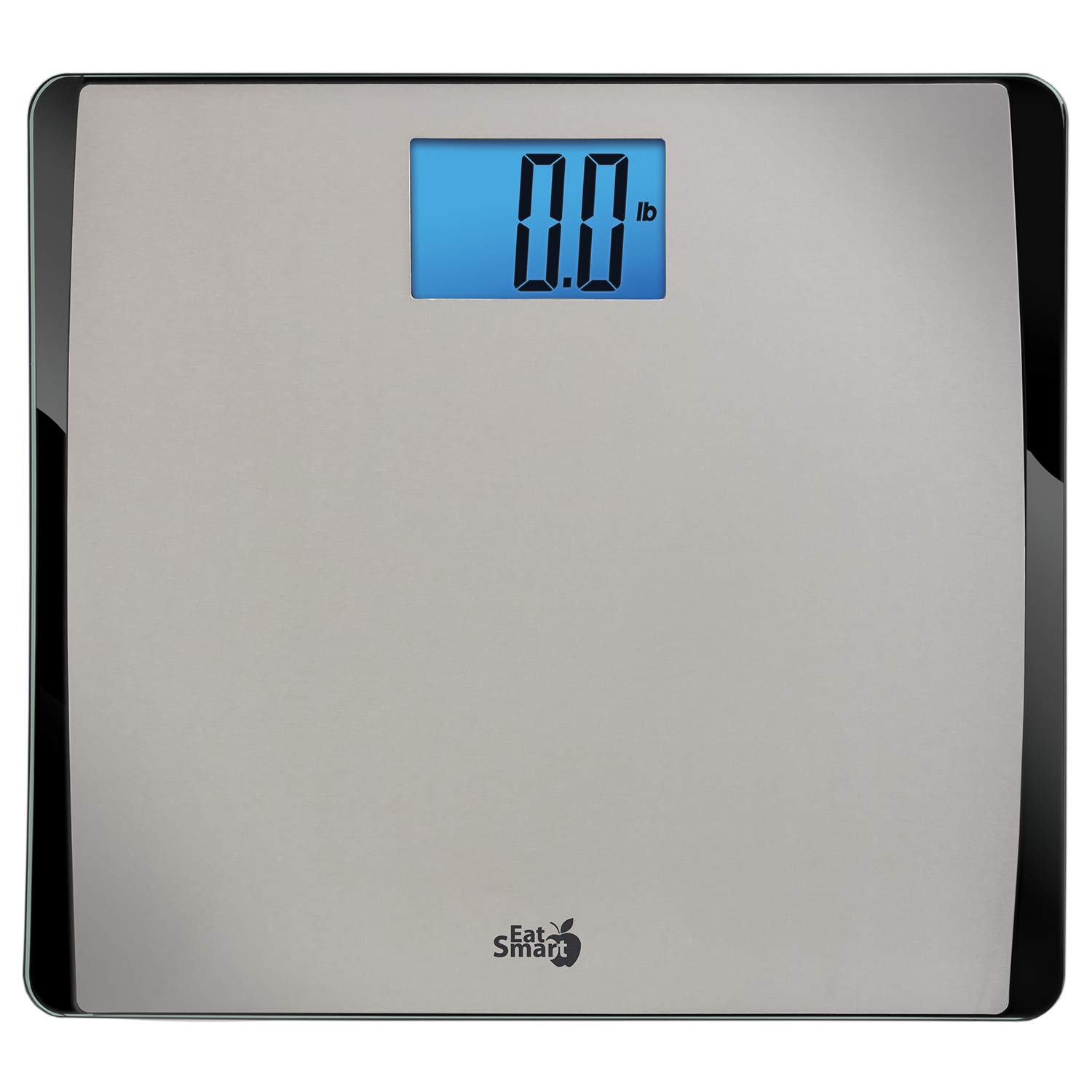 EatSmart Precision 550 Pound Extra-High Capacity Digital Bathroom Scale with Extra-Wide Platform by EatSmart