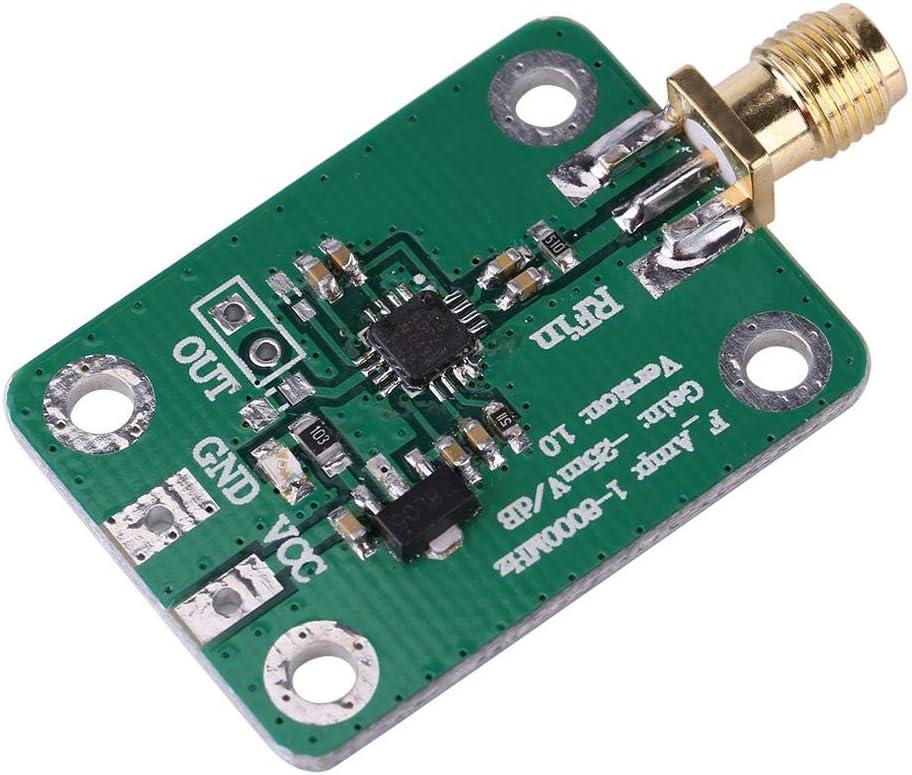 1-8000MHz 50 Ohms 7-15VDC AD8318 Chip RSSI Measurement Power Meter RF Logarithmic Detector