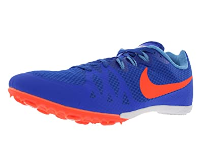 d18a29c86808a Amazon.com | Nike Zoom Rival MD Track Spikes Shoes Blue Orange Mens ...