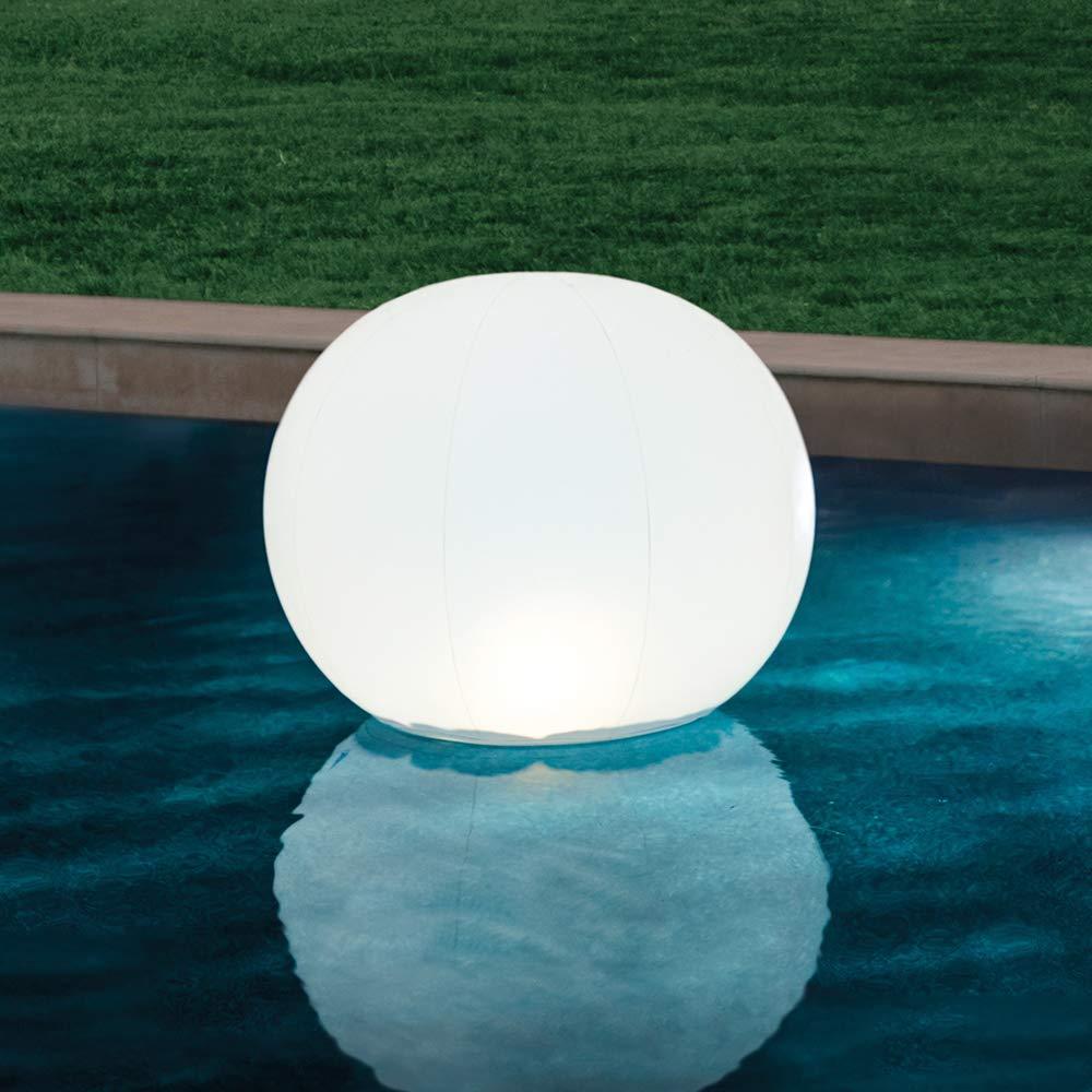Intex 68695 - Globo flotante con luz LED 6 colores: Amazon.es: Jardín
