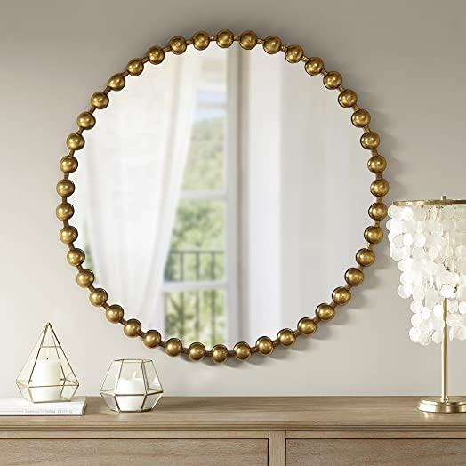 MADISON PARK SIGNATURE Marlowe Decor Mirror Gold See Below