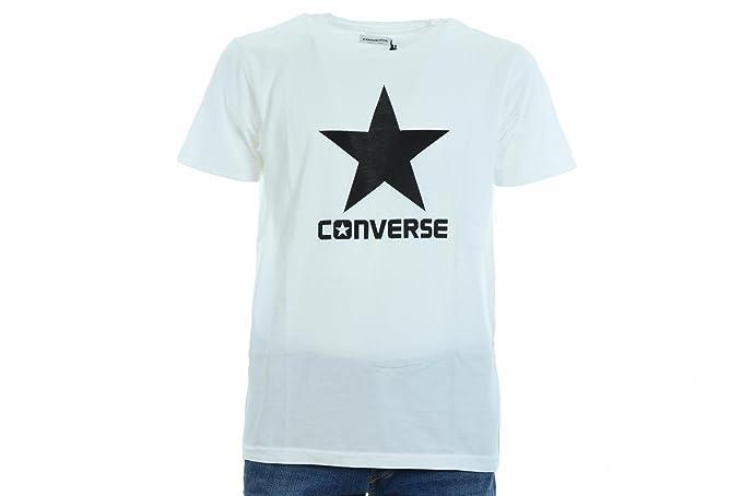 7b056ba9499e5 CONVERSE t-shirt homme m   c 10004886-A02 T-SHIRT SS CREW LOGO ...