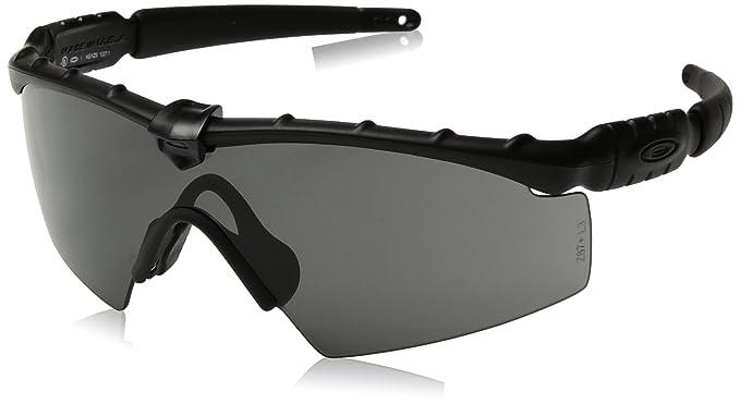 b5c2e71660c66 ... coupon code for oakley mens ballistic m frame 2.0 rectangular sunglasses  matte black with grey c33b0