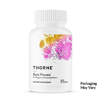 Amazon Com Thorne Research Basic Prenatal Folate Multivitamin