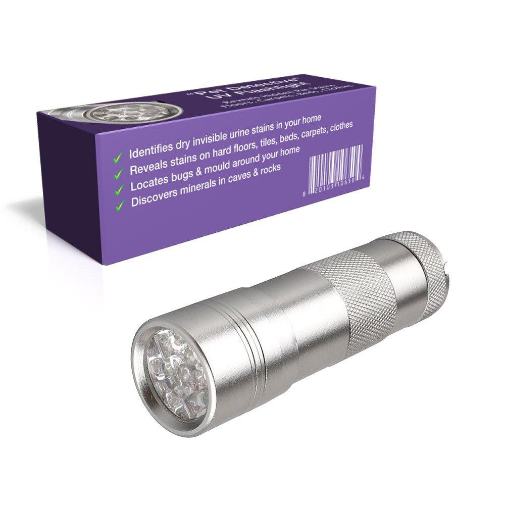 Amazon.com: Pet Detective Best UV Flashlight LED Ultraviolet Black ...