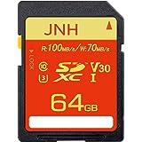 SDカード SDXCカード 64GB JNH UHS-I 超高速100MB/s Class10 U3 V30 4K Ultra HD 対応 【国内正規品 5年保証】