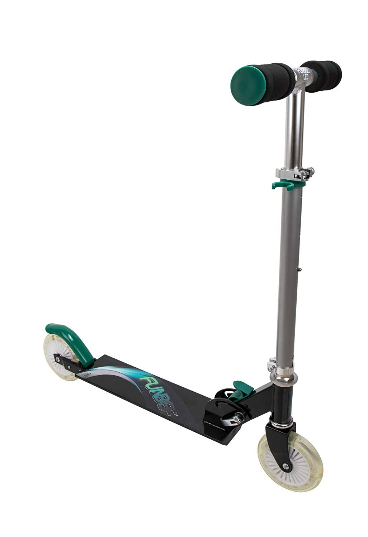 Amazon.com : Funbee Kids Two Wheel Inline Foldable Scooter ...