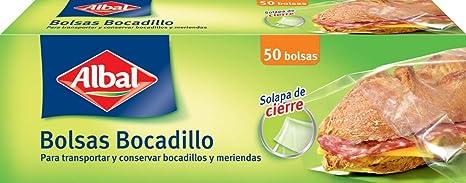 Albal Bolsas Bocadillo Scalpa de Cierre - 50 Bolsas