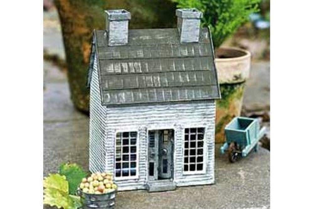 Miniature Dollhouse FAIRY GARDEN - Early American Home - Accessories
