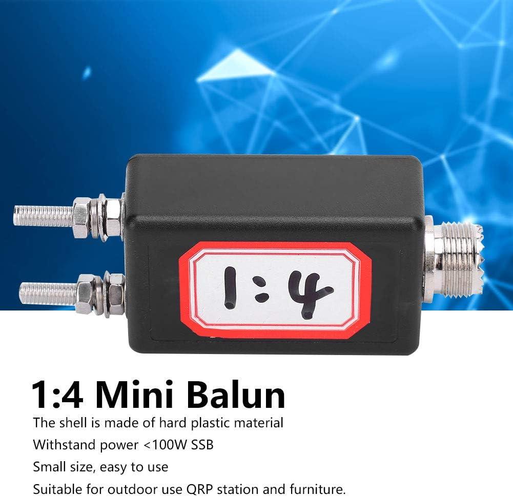 Mini Balún 1: 4, Electrónica de Consumo, Resistente y Duradero, con Rendimiento Estable, Adecuado para Antena de Onda Corta HF para Muebles y ...