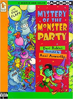 Book Mystery Of The Monster Party (A Search-and-solve Gamebook: Skill Level 1)