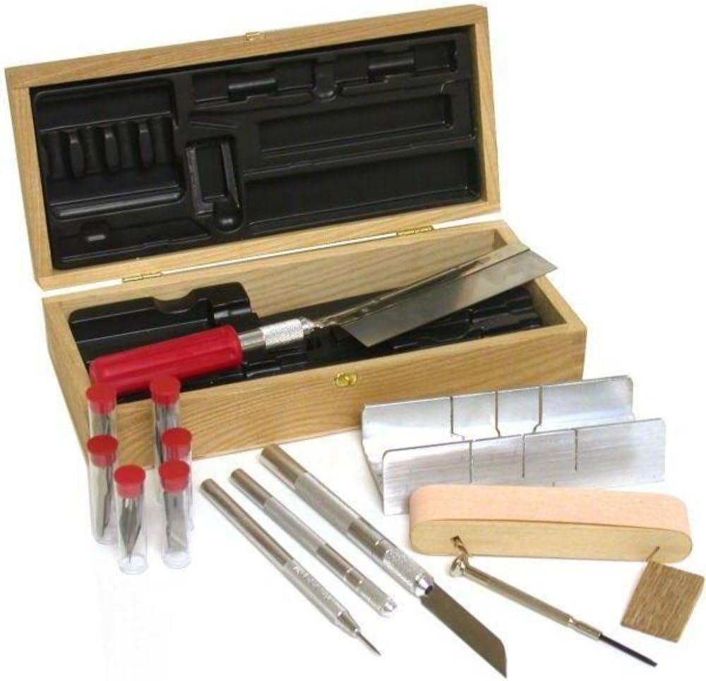 Juego de 30 cuchillos Hobby + caja de inglete para sierra de ...