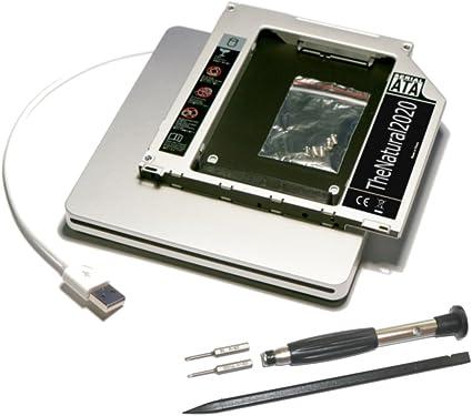 HDD/SSD SATA III Adaptador Compatible con MacBook (Pro) sustituye ...
