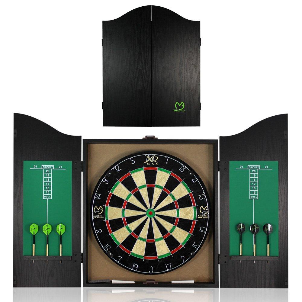 Dartboard cabinet Michael VAN Gerwen Dart Board Dartboard With Dartboard Cabinet TW24 MA7000510