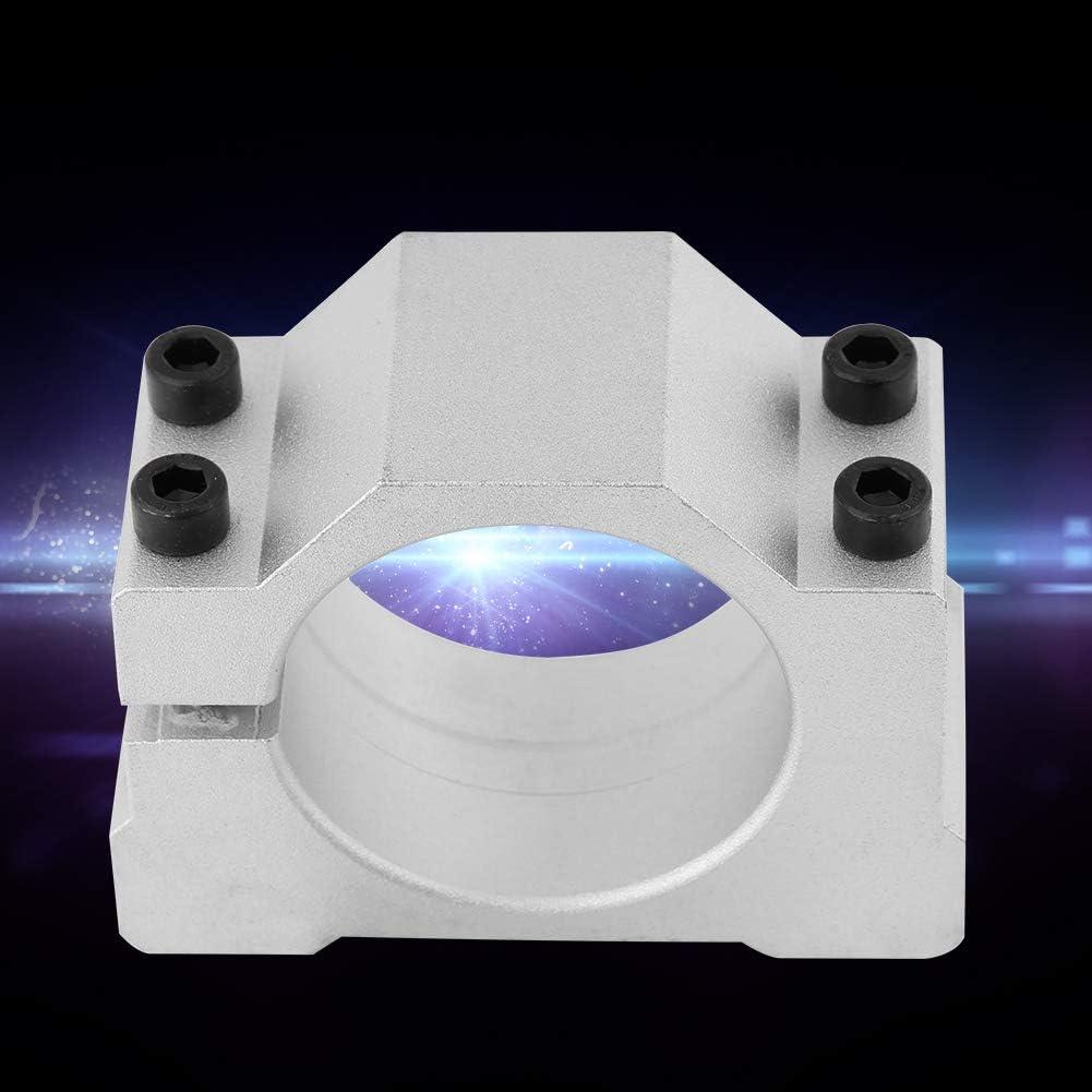 Abrazadera de Soporte de Montaje de Motor de Husillo de Aluminio Fundido de 52//65 MM Para M/áquina de Grabado CNC M/áquina de Impresi/ón 3D 52mm