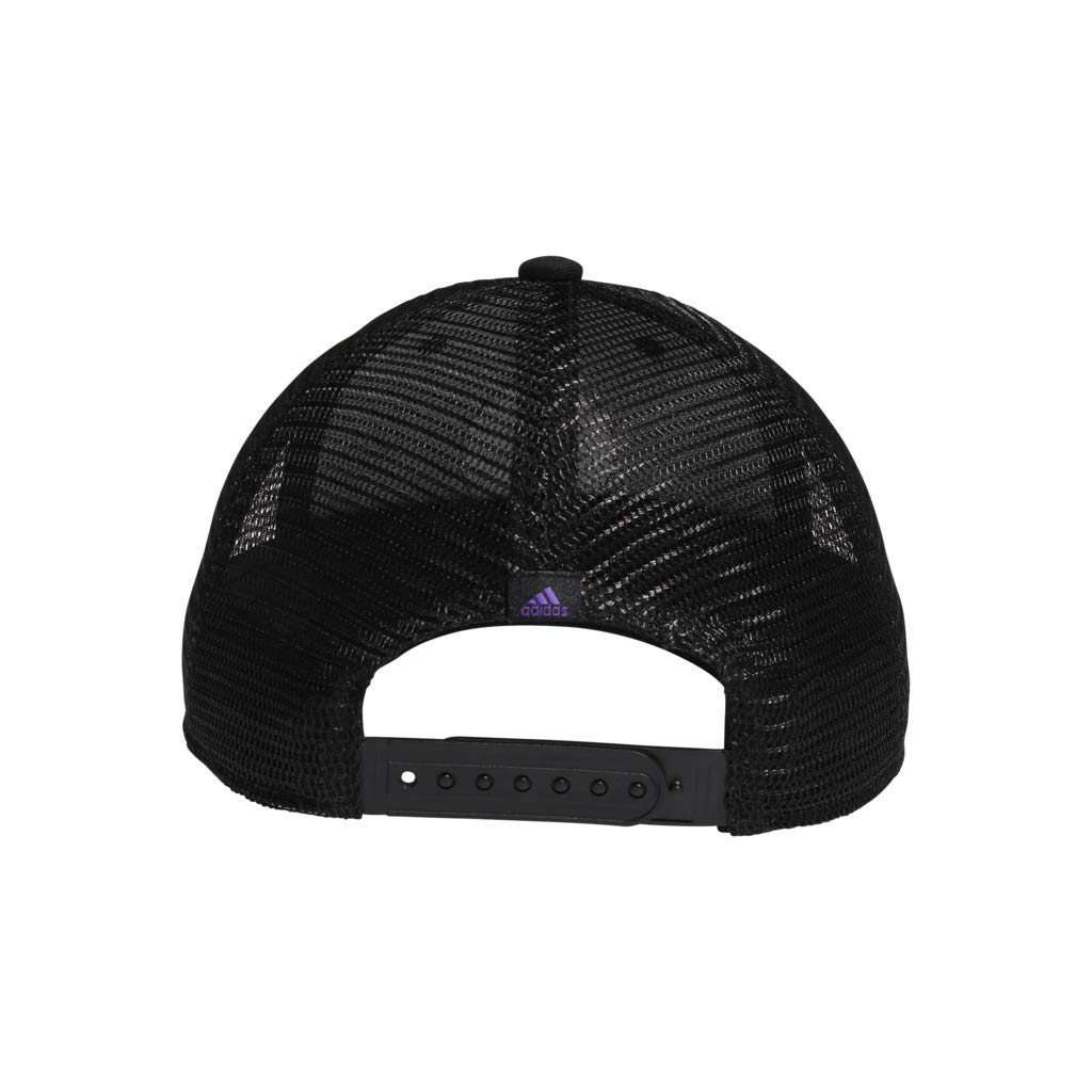b49c846bf1 Amazon.com: adidas Women's Notion Structured Adjustable Cap, Black/Active  Purple/Shock Cyan, One Size: Sports & Outdoors