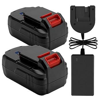 Amazon.com: Exmate - Pack de 2 baterías de repuesto Ni-MH 18 ...