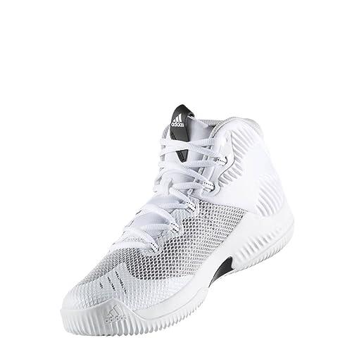 Adidas Crazy Hustle, Zapatos de Baloncesto para Hombre, Blanco ...
