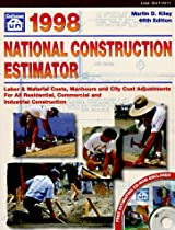 1998 National Construction Estimator (Includes 1 CD-Rom)