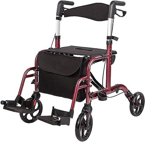 Amazon.com: Elenker - Silla de transporte médico plegable ...