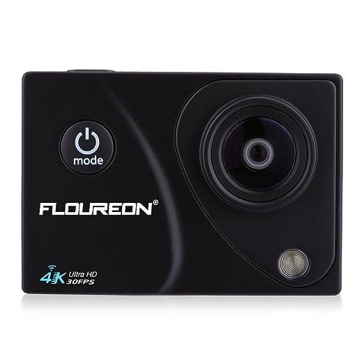 7 opinioni per Floureon- Action Camera Sport 2,0 Pollici H.264 16MP HD 4K 30FPS 170°