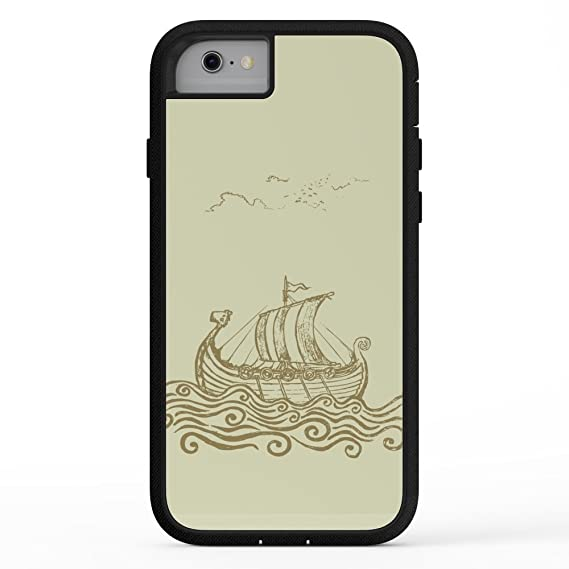 promo code f40e8 8b0b2 Amazon.com: Society6 Viking Ship Adventure Case iPhone 7: Cell ...