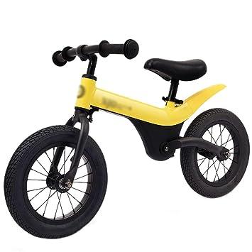 DUWEN Equilibrio para niños Coche sin Pedal Bicicleta de Dos Ruedas Marco de Aluminio (Color