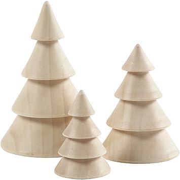 Wooden Christmas Trees.Wooden Christmas Trees H 5 7 5 10 Cm D 3 5 5 4 6 7 Cm