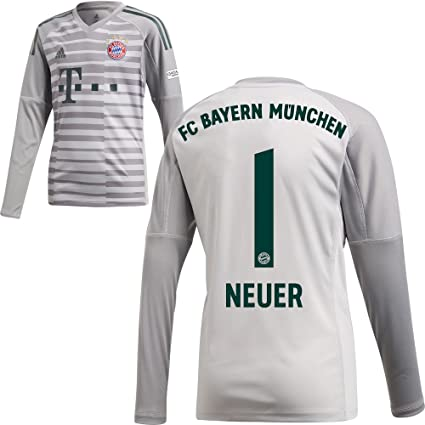 495ab0c39fb FanSport24 Authentic FC Bayern Munich FCB Goalkeeper Jersey 2018 2019 Home  Shirt Kids Neuer 1 Gr