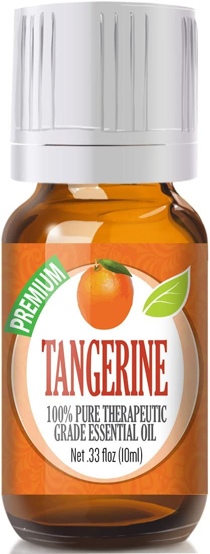 Tangerine Essential Oil - 100% Pure Therapeutic Grade Tangerine Oil - 10ml