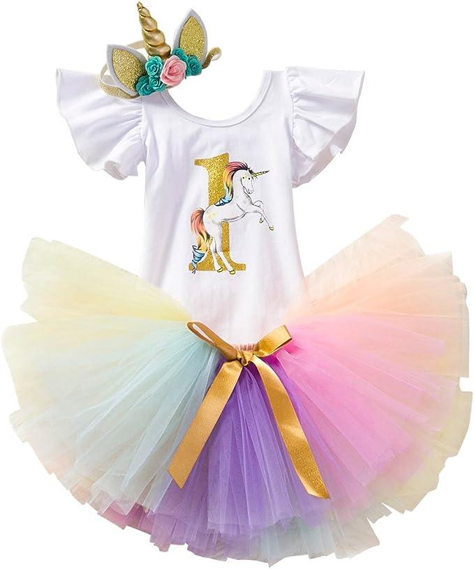 Amazon.com: Disfraz de unicornio con flores, mameluco + ...