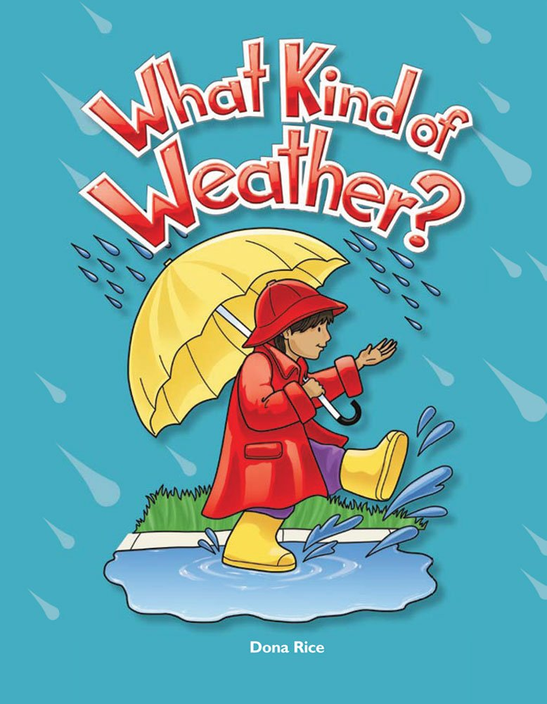 What Kind of Weather? Lap Book (Literacy, Language and Learning) by Brand: Teacher Created Materials