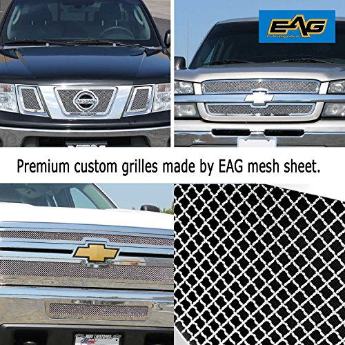 EAG Stainless Steel Woven Mesh Grille Sheet - 18
