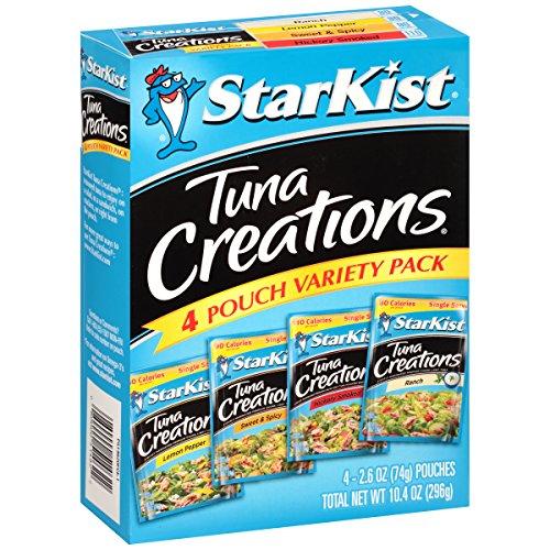 - StarKist Tuna Creations Variety Pack, 2.6 oz (Pack of 4)