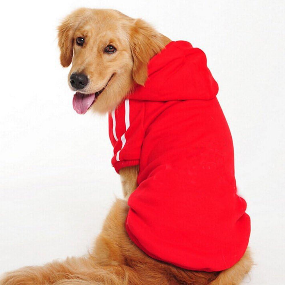 Namsan Abrigo de Perro Sudaderas con Capucha para Perros Ropa de I nvierno para Perro Mediano/Grande-3XL