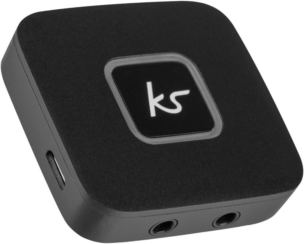 KitSound Duplicador de Auriculares con Bluetooth, Color Negro