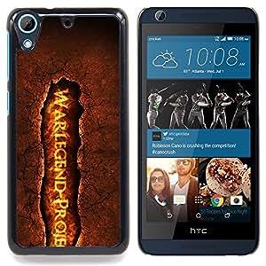 - cool fire lava legend war crack/ Duro Snap en el tel????fono celular de la cubierta - Cao - For HTC Desire 626 & 626s