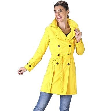cbdc0538c2def HappyRainyDays - Raincoat, trench coat Yasmin yellow, size XS ...