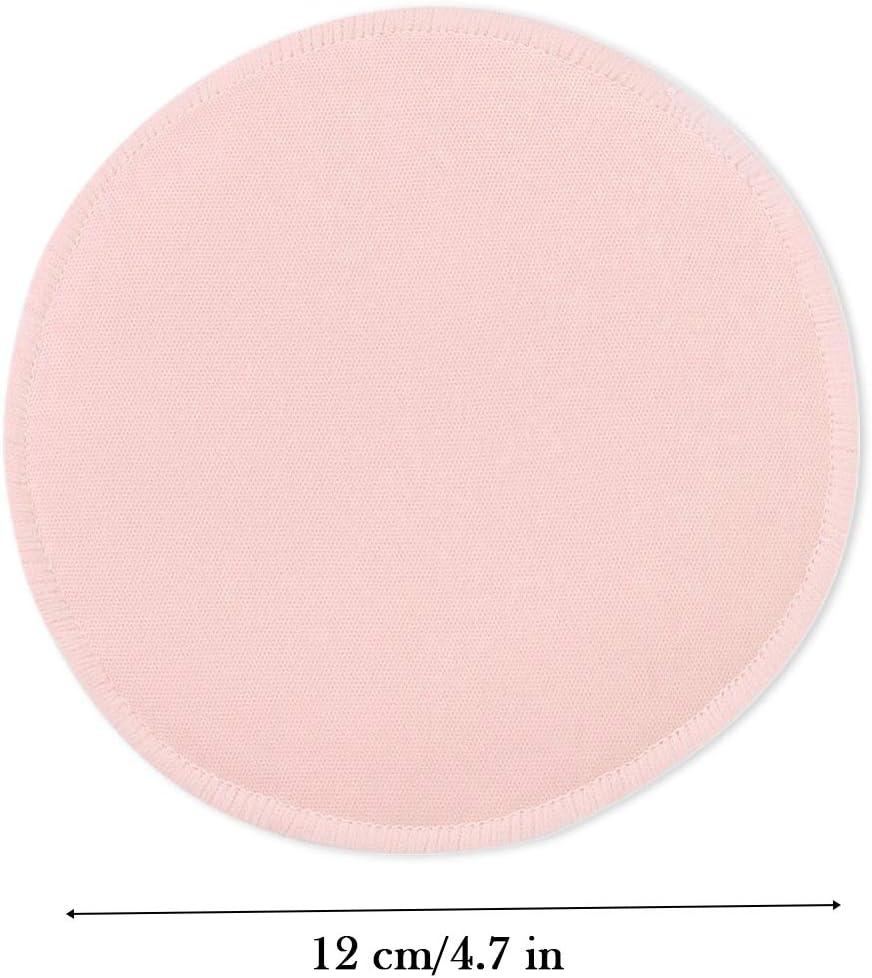 Nipple Pads Breastfeeding Reusable,Nipple Pads Breastfeeding Reusable Organic Bamboo Nursing Breast Pads Washable Nursing Breast Pads Extra Absorbent Breast Pads Leaking 6 Pcs Frivolous Pink