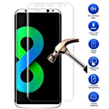 myTech® Samsung Galaxy S8 Plus Display Full Cover 6.2 Zoll Protector 3D vorgerundete Hartglas Schutzfolie Tempered Glass Display Schutzglas Hartglas Panzerglas Folie Echtglas Glas 100% Displayschutz Schutzfolie Panzerfolie Displayschutzfolie Premium 0,3mm Tempered Glass Screen Protector