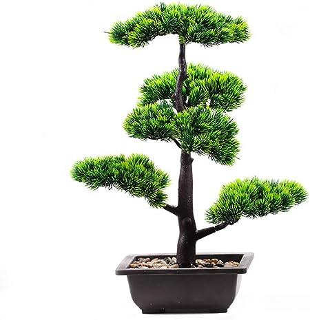 Artificial Office Desk 33cm Bonsai Tree Plant Pot Home Table Creative Decor
